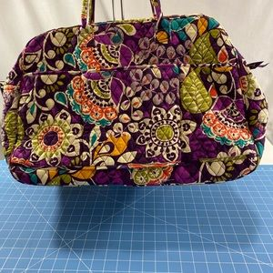 Vera Bradley  Quilted Multi Colored Week-End Tote.
